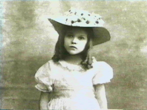 Mary Pickford at an early age.
